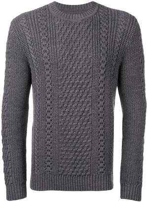 Edwin cable knit sweater