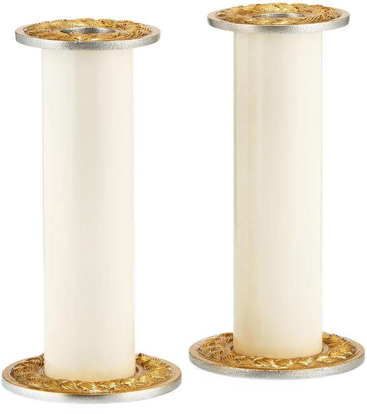 Marigold Artisans Braided Candle Holders, Set of 2