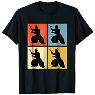 aikido shirt Colorful Retro