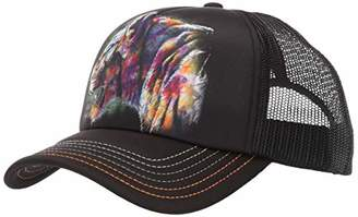 The Mountain Men's Painted Cheetah Hat