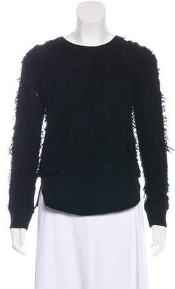 Inhabit Wool Frayed Sweater