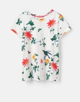 Joules Clothing 124582 Nessa Print Lightweight Jersey Thirt