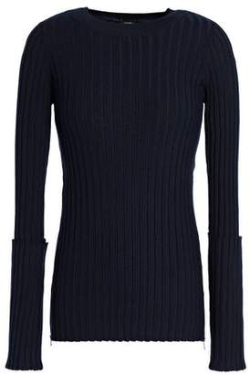 Joseph Ribbed Merino Wool-Blend Sweater