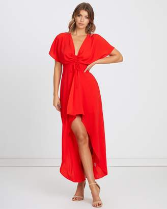 Atmos & Here ICONIC EXCLUSIVE - Mia Gathered Front Maxi