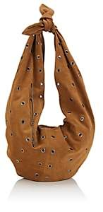 Saint Laurent Women's Sac Bandana Suede Hobo Bag - Brown