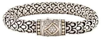 John Hardy Diamond Naga Bracelet