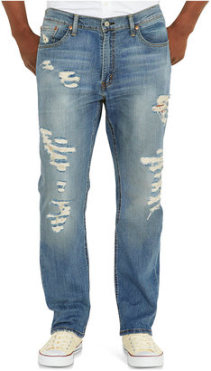 Levi's® 541TM Athletic Fit Ripped Jeans $69.50 thestylecure.com