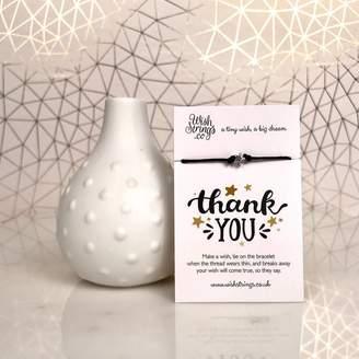 Nest 'Thank You' Star Wish Bracelet