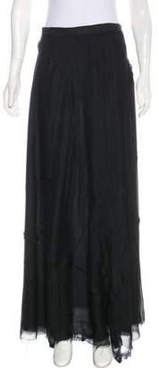 Rag & Bone Silk Maxi Skirt