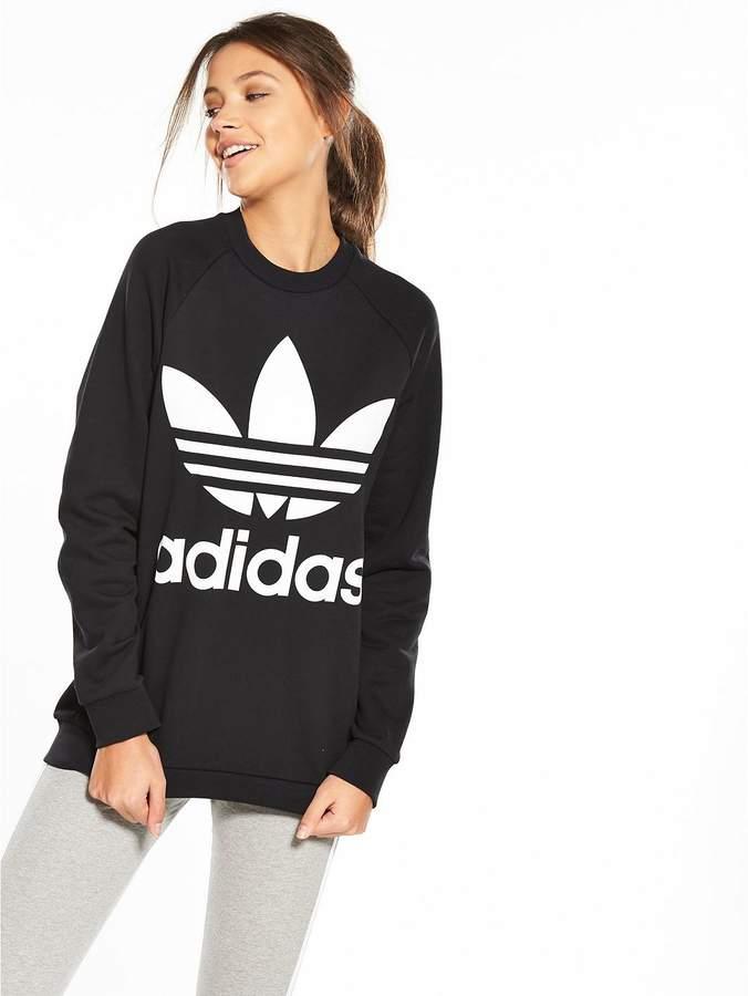 Adicolor Oversized Sweater - Black