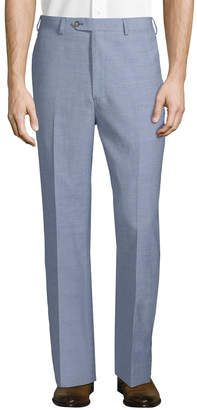 Brooks Brothers Regent Wool And Linen Blend Trouser