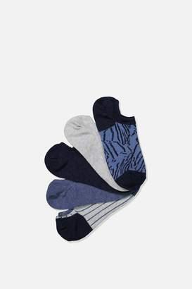 Rubi 5Pk Sports Low Cut Sock
