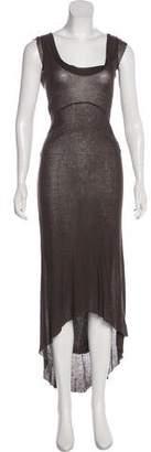 Kristensen Du Nord High-Low Knit Dress