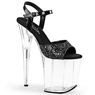 Pleaser USA FLAM810/BG/C Women's Platform Dress Sandal