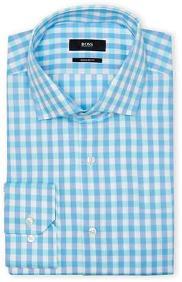 HUGO BOSS Gingham Sport Shirt