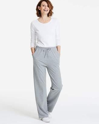 Fashion World Petite 2PK Straight Leg Jersey Trousers