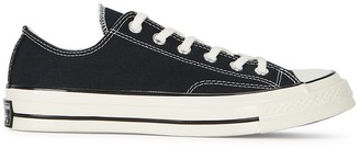 Converse Chuck 70 OX Black Canvas Trainers