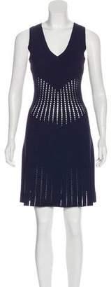 Alaia Fit & Flare Mini Dress