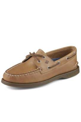 Sperry Tan Leather Boat-Shoe