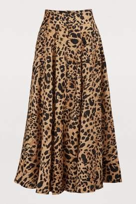 Zimmermann Veneto linen skirt