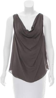 Haute Hippie Silk Sleeveless Top