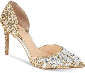 Badgley Mischka Upton Evening Pumps