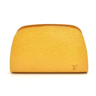 Louis Vuitton Yellow Leather Clutch bags