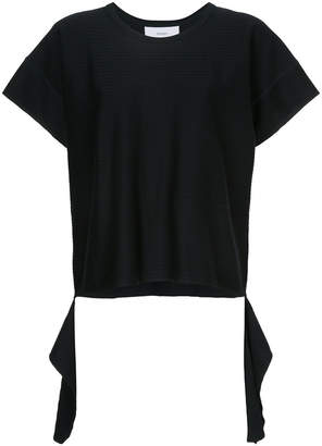 ASTRAET cut away hem T-shirt