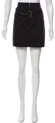 Derek Lam Belted Mini Skirt