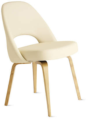 Design Within Reach Saarinen Executive Side Chair - Wood Legs