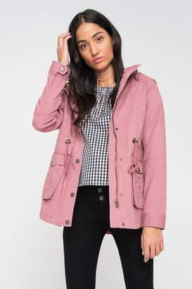 Ardene Hooded Light Utilitarian Jacket