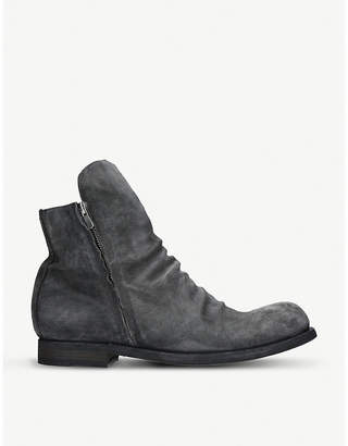 Officine Creative 45 suede chelsea boots
