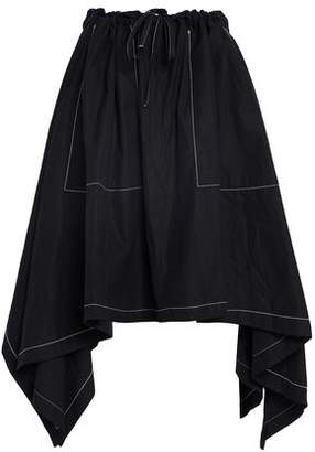 J.W.Anderson Cotton-Poplin Midi Skirt