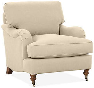 Robin Bruce Brooke Club Chair - Flax Crypton