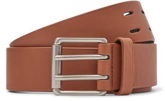 Bottega Veneta 3.5cm Tan Leather Belt