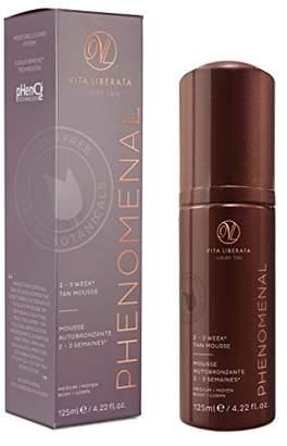 Vita Liberata Long Lasting Sunless Tanning Mousse pHenomenal 2-3 Week Self Tan Organic