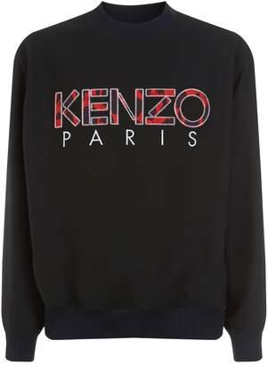 Kenzo Camouflage Logo Sweater