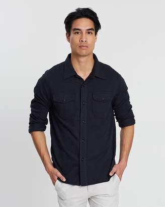 J.Crew W & B Herringbone Shirt