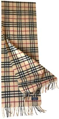 Burberry Multicolour Cashmere Scarves & pocket squares