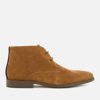 Dune Men's Mansfield Suede Desert Boots