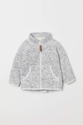 H&M Knitted fleece jacket