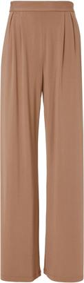 Fleur Du Mal Fox Silk-Lined Pants Pink 2