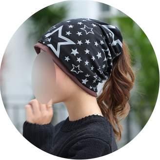ce245fad71853f Lady night Woolen hat Knitted Scarf & Winter Hats for Women Letter Beanies  Warm Skullies Gorros