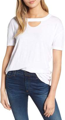 n:PHILANTHROPY Allen Cutout Detail Boyfriend Cotton Tee