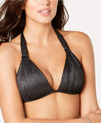 Kenneth Cole Metallic Push-Up Bikini Top Women Swimsuit