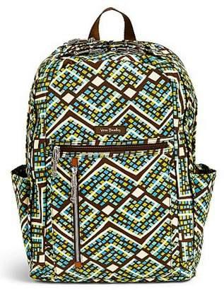 Vera Bradley Rain Forest Laptop-Backpack