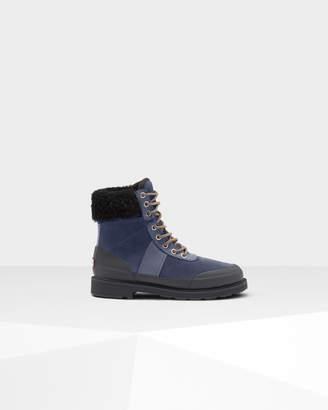 Hunter Women's Original Leather Insulated Commando Boots