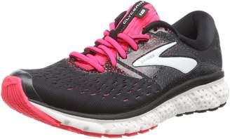 Brooks Women's Glycerin 16 Running Shoe (BRK-120278 1B 4080940 6.5 EBO/GRN/BLK)