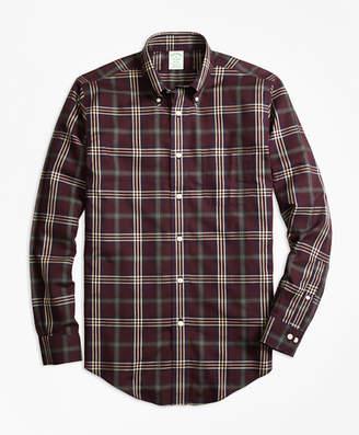 Brooks Brothers Non-Iron Milano Fit Signature Tartan Sport Shirt