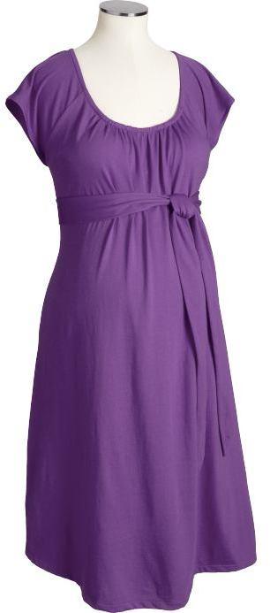 Maternity Cap-Sleeve Dresses